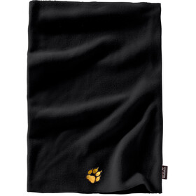 Jack Wolfskin Real Stuff Loop Scarf Kids black